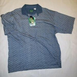 6a2e8c1e2 Bugle Boy Shirts   Mens Green Short Sleeve Pique Polo Shirt   Poshmark